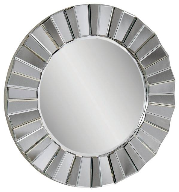 Beautiful Shape Of Wall Mirrors – In Decors With Contemporary Round Mirrors (View 19 of 20)