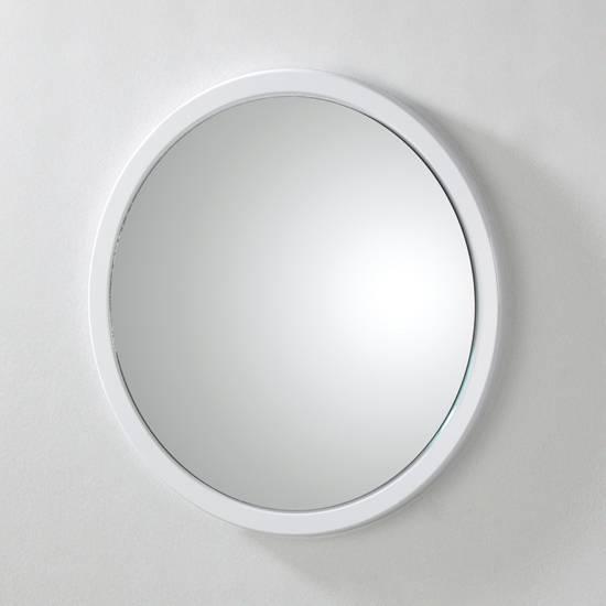 Beautiful White Bathroom Mirror Ideas – Home Decorating Ideas Within Round White Mirrors (#3 of 30)