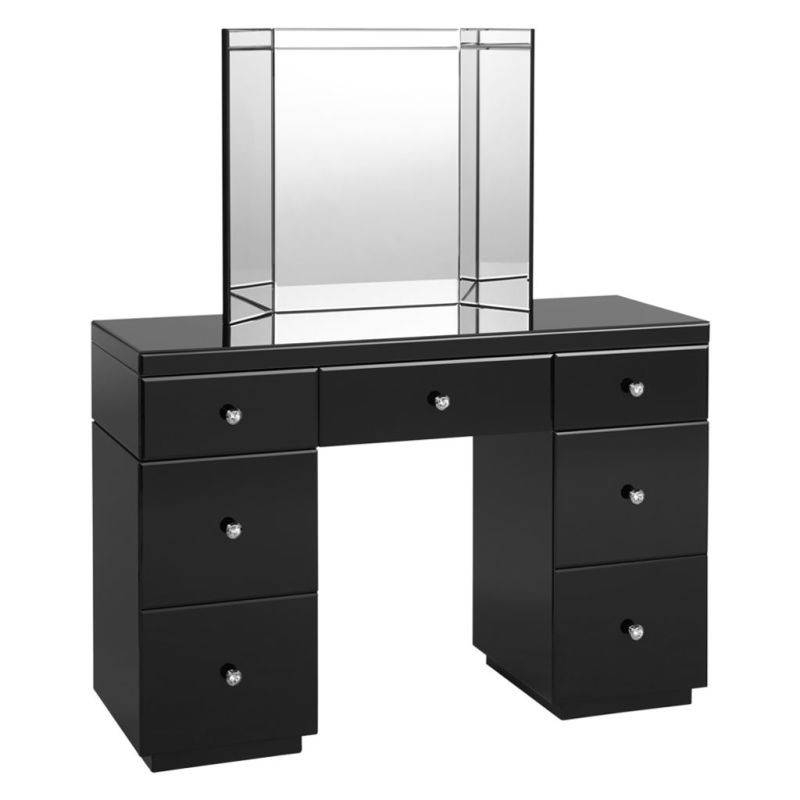 Bedroom Black Dressing Tables Australia Cheap For Sale Argos With Regarding Black Dressing Mirrors (View 14 of 20)