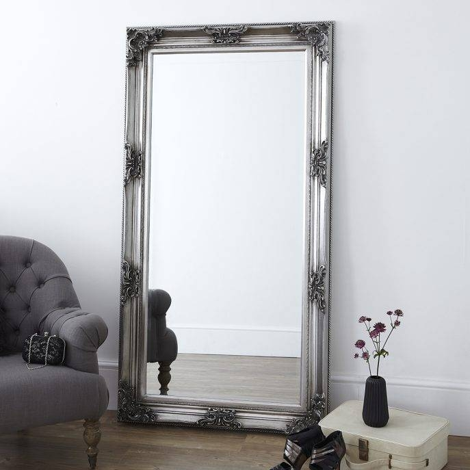 Bedroom Furniture : Free Standing Mirror Wood Framed Mirrors Intended For Wooden Mirrors (#7 of 30)