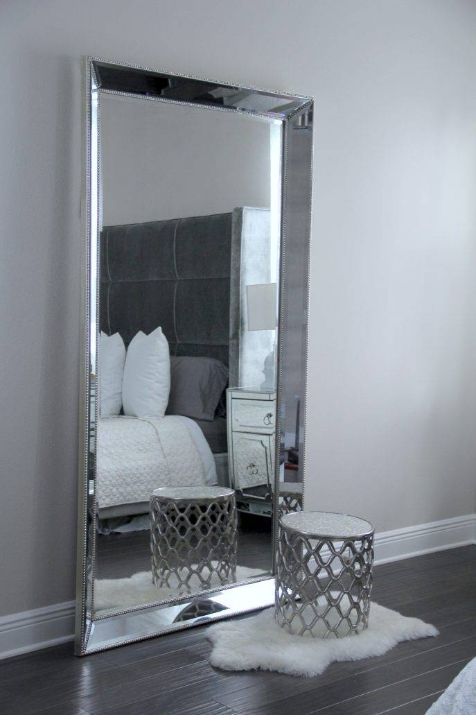Bedroom Furniture Sets : Cheap Full Length Dressing Mirror Long Intended For Large Silver Vintage Mirrors (#11 of 30)