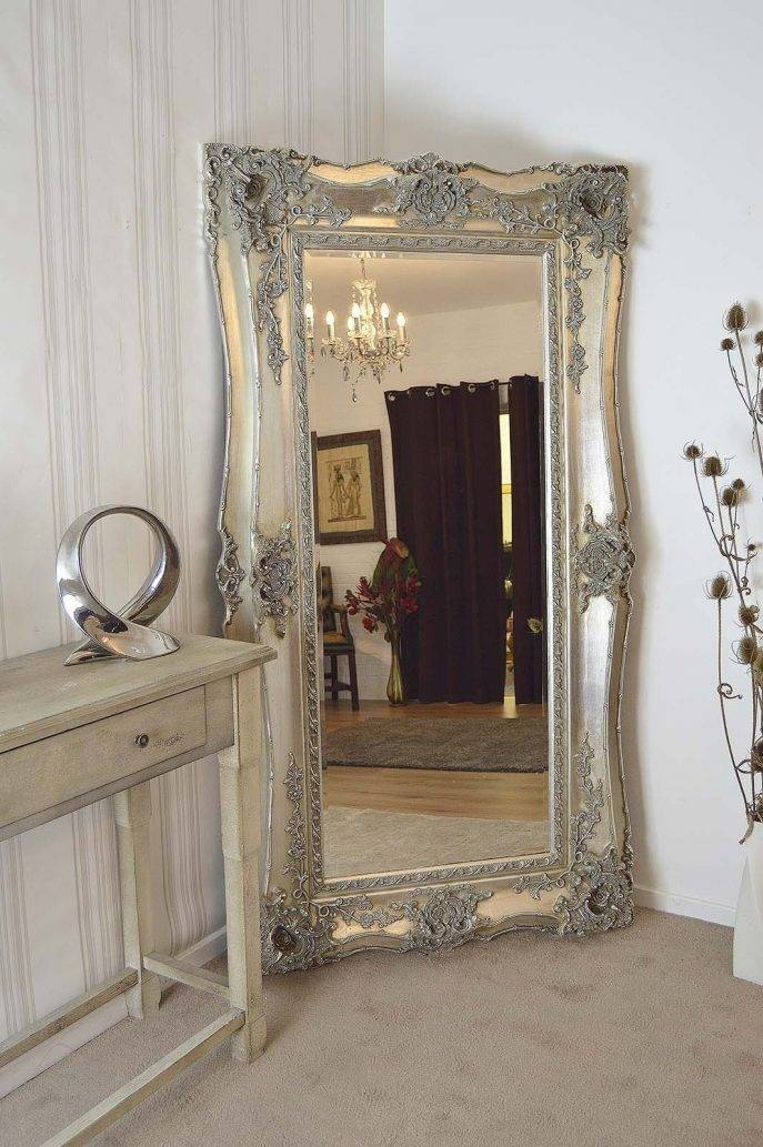 Bedroom Furniture : Standing Mirror Black Mirror Antique Wall Throughout Huge Standing Mirrors (#1 of 15)