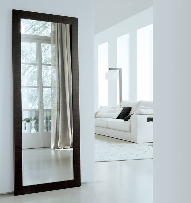 Bedroom Wall Mirrors Pertaining To Big Modern Mirrors (#7 of 20)