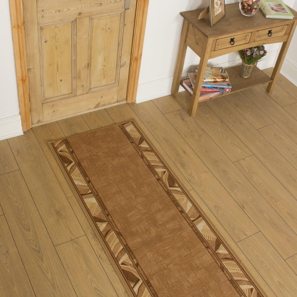 Beige Hallway Carpet Runner Corrido For Hall Runners Any Length (#6 of 20)