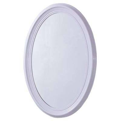 Bellaterra Home – Bathroom Mirrors – Bath – The Home Depot With Regard To Oval White Mirrors (#9 of 30)