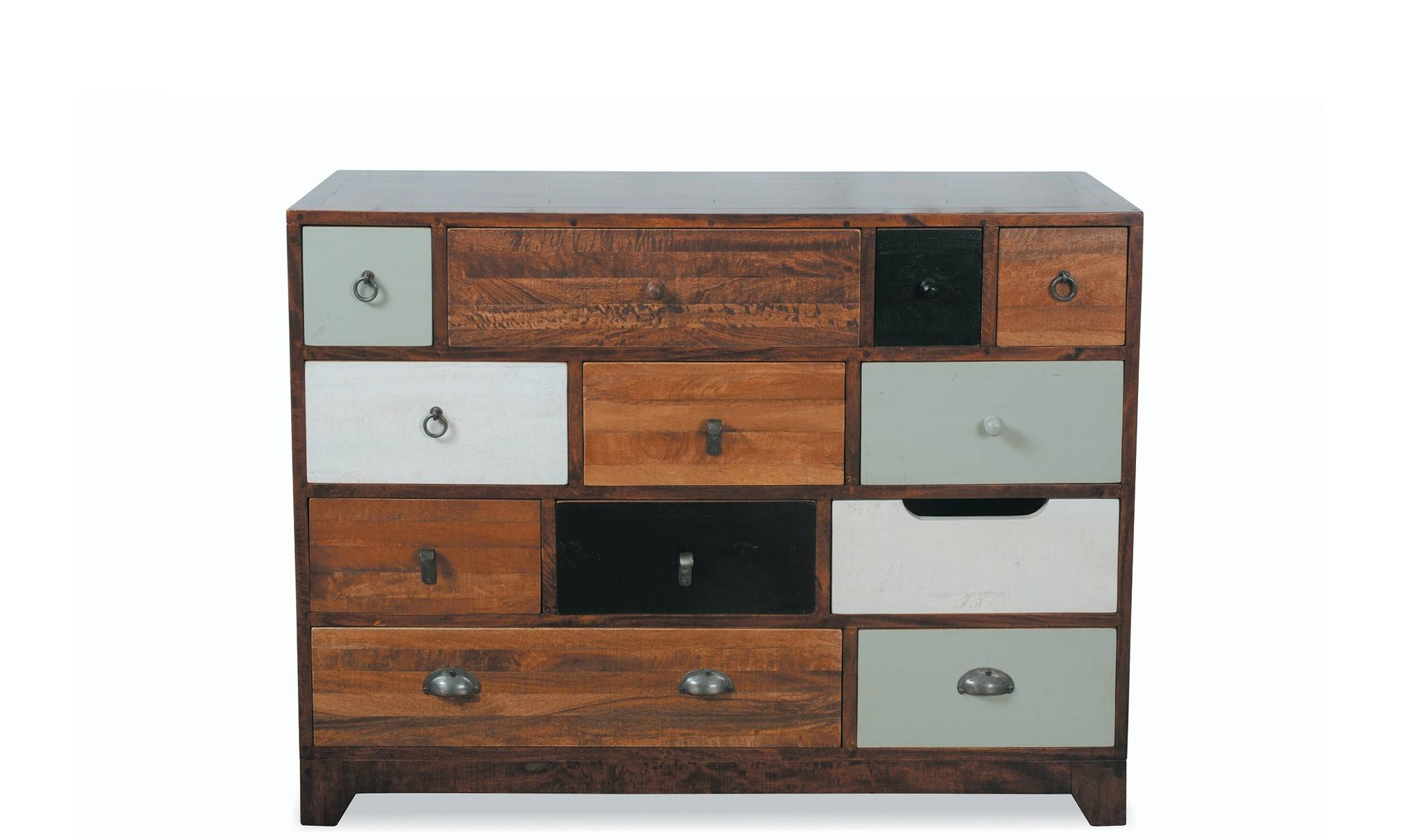 Bentley – 12 Drawer Chest Multi Colour – Bedroom Chests – Fishpools With Regard To Multi Drawer Sideboard (#7 of 20)