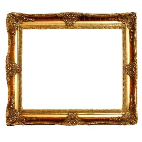 Bern Ornate Gold Mirror With   Clipart Panda – Free Clipart Images Regarding Gold Ornate Mirrors (#6 of 20)