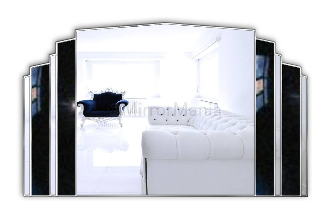 Bespoke Art Deco Mirrors | Mosaic Mirror | Custom Made Art Deco Mirror Pertaining To Original Art Deco Mirrors (#13 of 20)