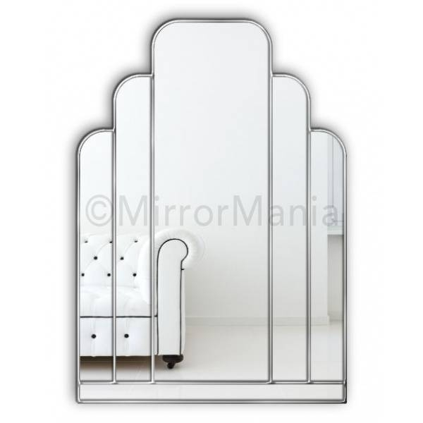 Bespoke Art Deco Mirrors | Mosaic Mirror | Custom Made Art Deco Mirror With Regard To Art Deco Wall Mirrors (#11 of 20)