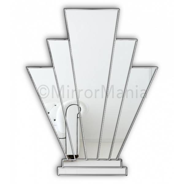 Bespoke Art Deco Mirrors | Mosaic Mirror | Custom Made Art Deco Mirror Within Art Deco Mirrors (#5 of 20)