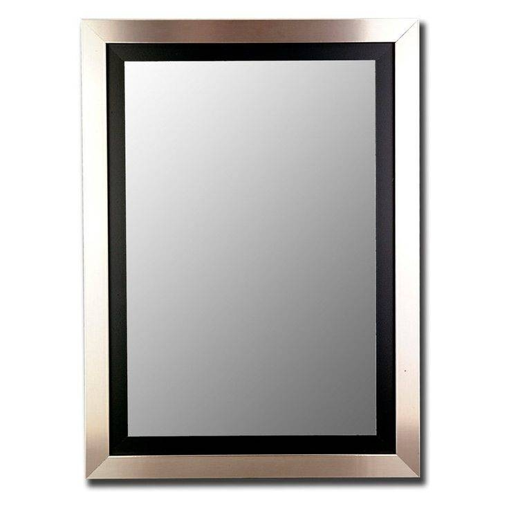 Best 10+ Black Wall Mirrors Ideas On Pinterest | Purple Kitchen Regarding Black Mirrors (#3 of 30)