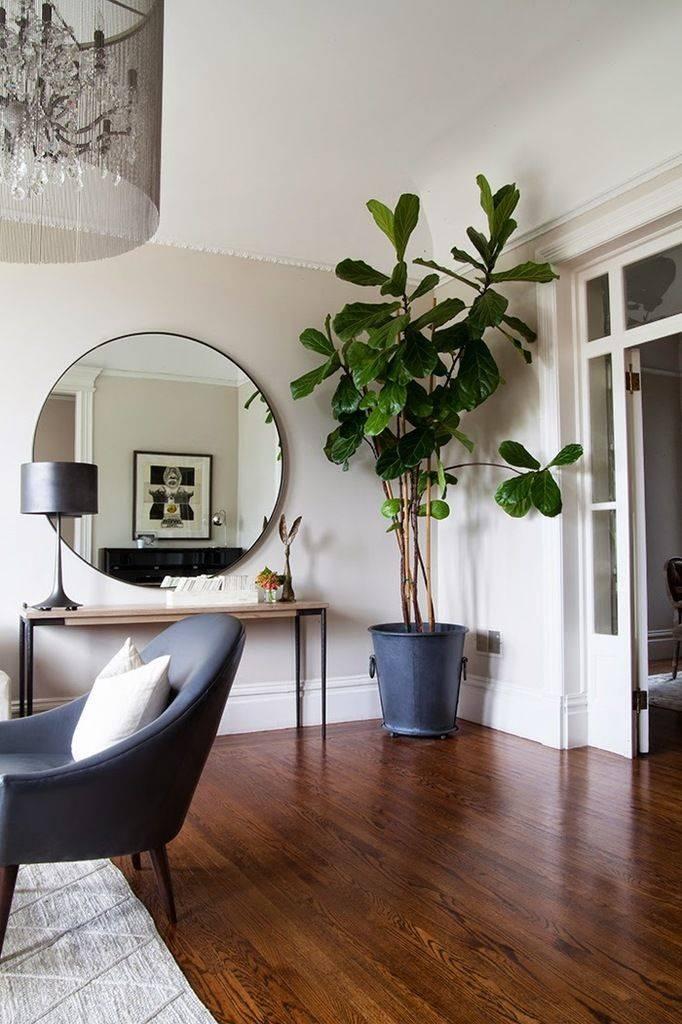 Best 10+ Circular Mirror Ideas On Pinterest | Wood Mirror, Mirrors For Large Round Wooden Mirrors (#5 of 20)