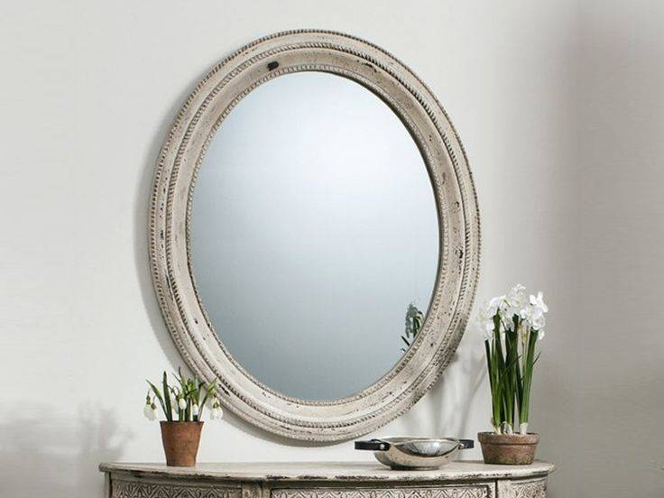 Best 10+ Cream Wall Mirrors Ideas On Pinterest | Neutral Wall Pertaining To Oval Cream Mirrors (#15 of 30)