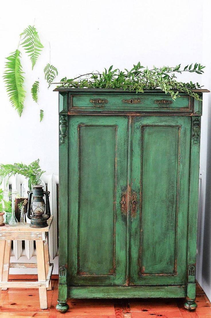 Best 10+ Green Distressed Furniture Ideas On Pinterest For Distressed Wood Sideboard (View 19 of 20)