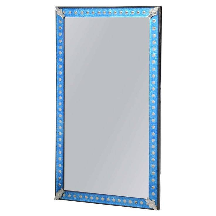 Best 10+ Midcentury Mirrors Ideas On Pinterest | Mid Century Pertaining To Mirrors With Blue Frame (View 18 of 20)