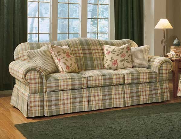 Best 10 Plaid Sofa Ideas On Pinterest Plaid Couch Sofa And Within Country Style Sofas And Loveseats (#2 of 15)