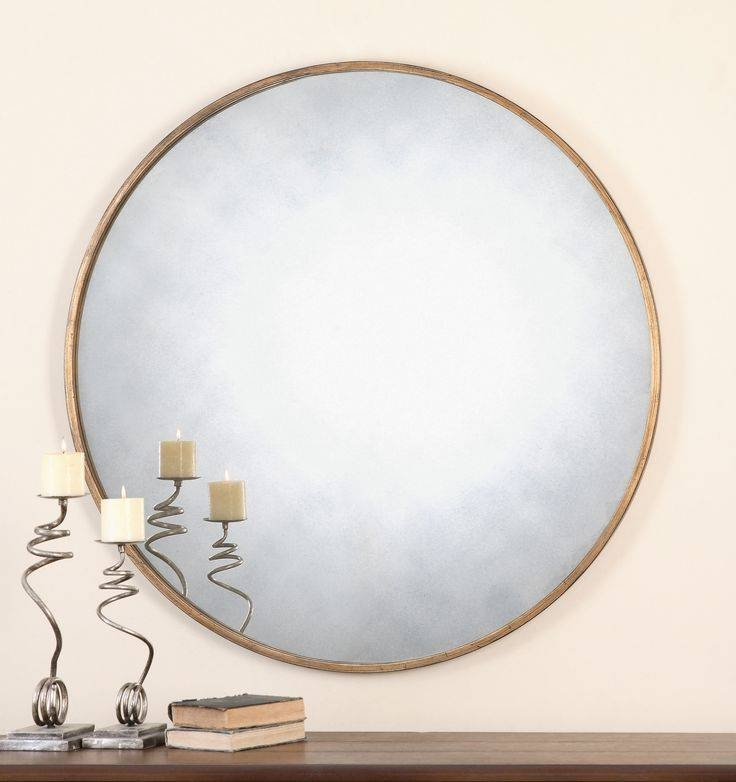 Best 10+ Uttermost Mirrors Ideas On Pinterest | Joanna Gaines With Regard To Large Round Gold Mirrors (#13 of 30)