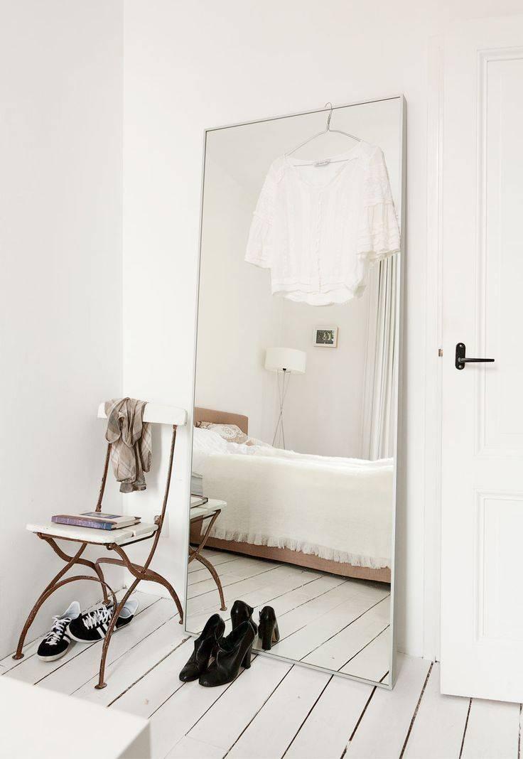 Best 10+ White Mirror Ideas On Pinterest | White Floor Mirror Pertaining To Large White Floor Mirrors (View 5 of 30)