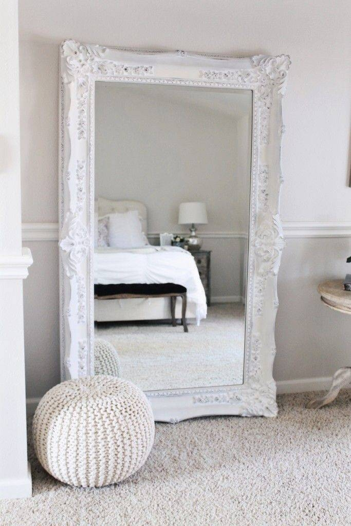 Best 10+ White Mirror Ideas On Pinterest | White Floor Mirror Throughout Big White Mirrors (#6 of 20)