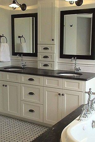 Best 20+ Black Cabinets Bathroom Ideas On Pinterest | Black Pertaining To Black Cabinet Mirrors (#5 of 30)