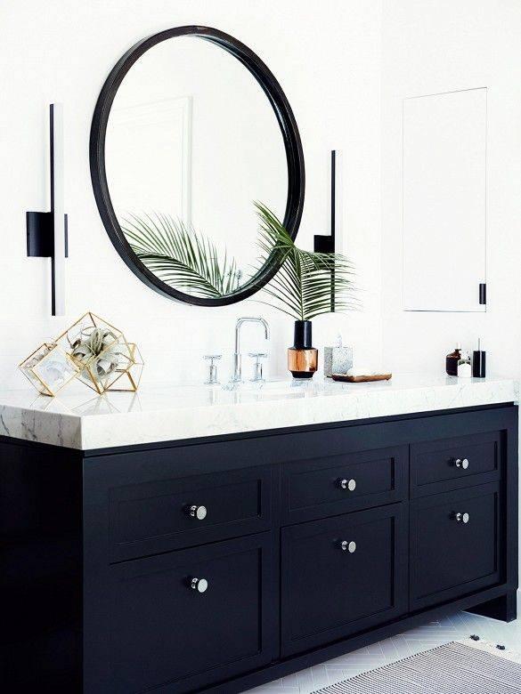 Best 20+ Black Cabinets Bathroom Ideas On Pinterest | Black Regarding Black Cabinet Mirrors (#6 of 30)