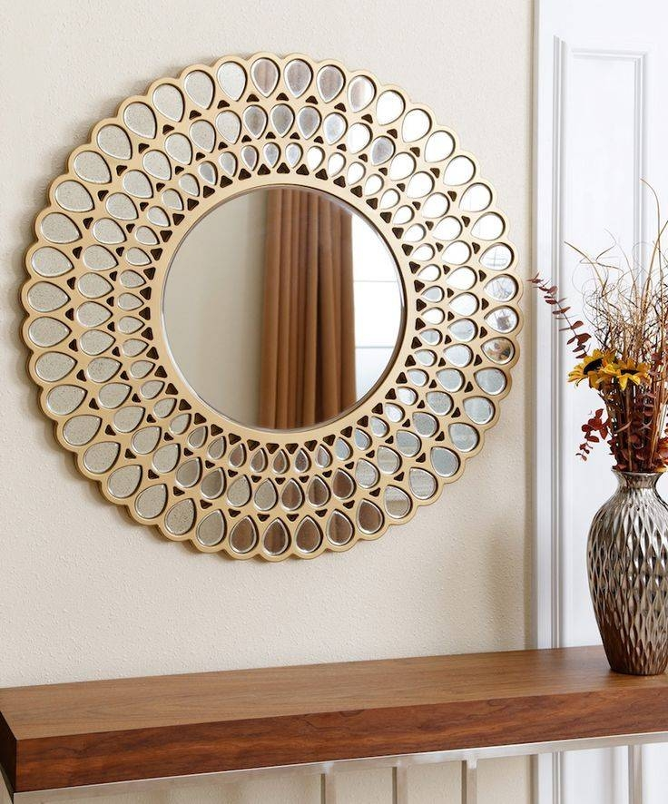 Best 20 Decorate A Mirror Ideas On Fireplace Mantel Throughout Unique Round Mirrors