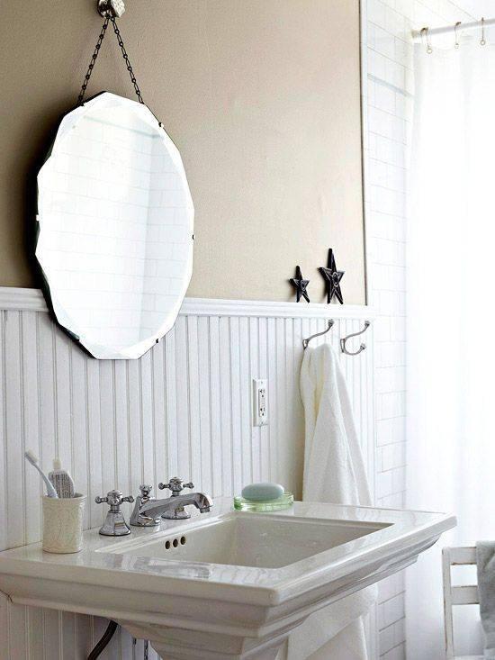 Best 20+ Diy Frameless Mirrors Ideas On Pinterest | Cottage Framed Throughout Cheap Vintage Style Mirrors (View 11 of 30)