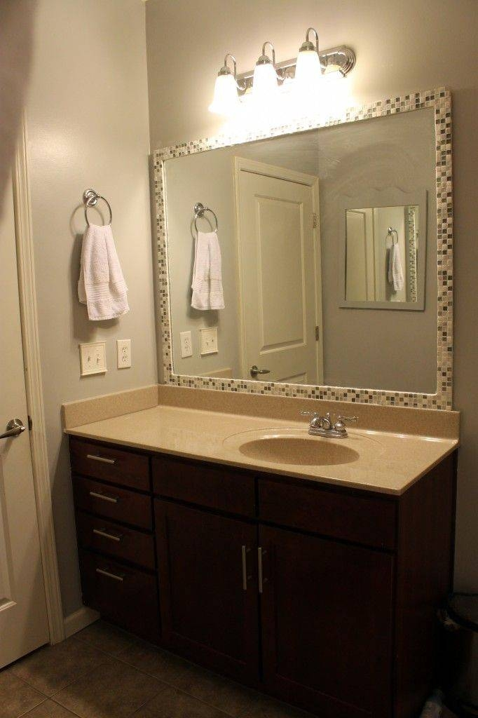 Best 20+ Frame Mirrors Ideas On Pinterest   Framed Bathroom Inside Huge Cheap Mirrors (View 14 of 20)