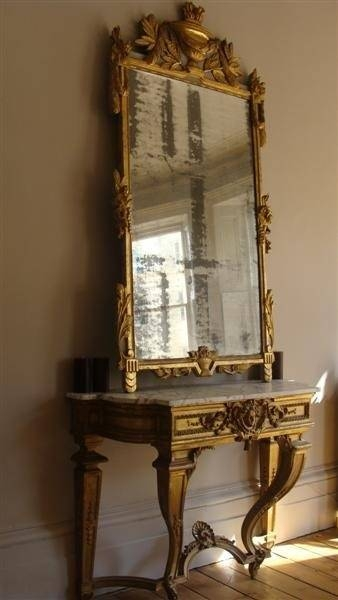 Best 20+ Gold Framed Mirror Ideas On Pinterest | Mirror Gallery Throughout Large Gold Antique Mirrors (#14 of 30)