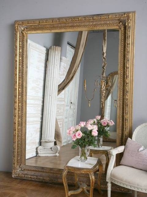 Best 20+ Gold Framed Mirror Ideas On Pinterest | Mirror Gallery With Big Ornate Mirrors (#7 of 30)