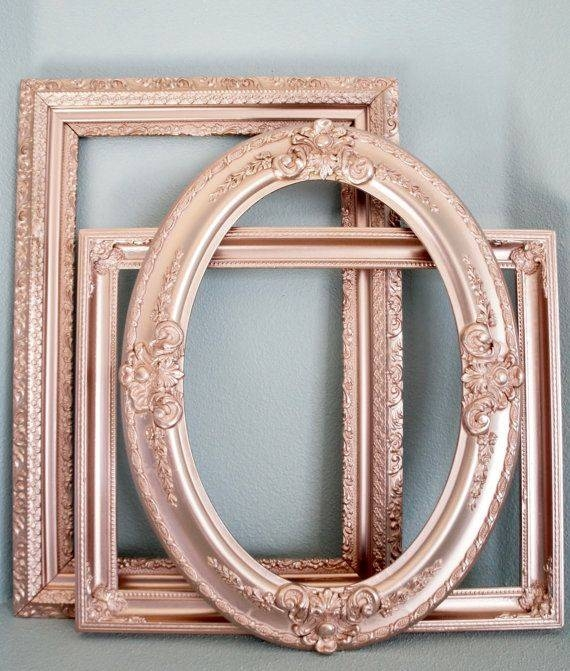 Best 20+ Gold Mirrors Ideas On Pinterest | Mirror Wall Collage Pertaining To Shabby Chic Gold Mirrors (#15 of 30)