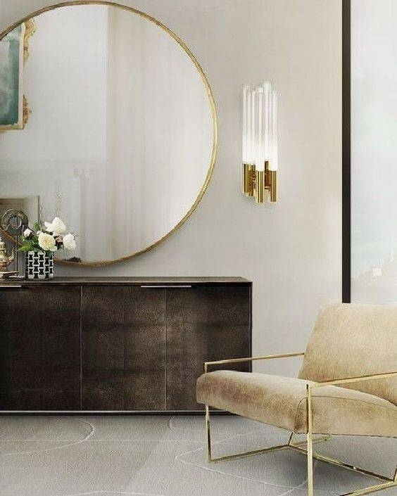 Best 20+ Gold Mirrors Ideas On Pinterest   Mirror Wall Collage Throughout Large Round Gold Mirrors (View 14 of 30)