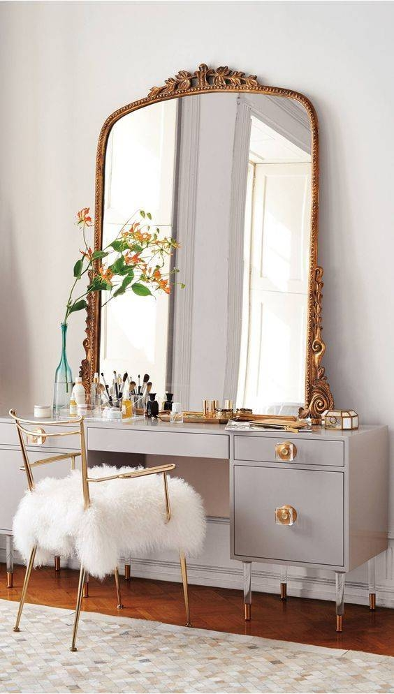 Best 20+ Gold Mirrors Ideas On Pinterest | Mirror Wall Collage With Regard To Big Vintage Mirrors (#7 of 20)