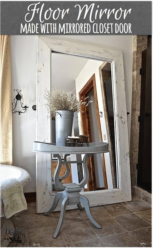 Best 20+ Large Floor Mirrors Ideas On Pinterest | Floor Mirrors For Large White Floor Mirrors (View 7 of 30)