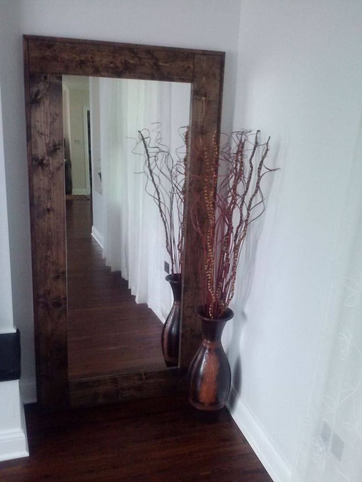 Best 20+ Large Floor Mirrors Ideas On Pinterest | Floor Mirrors With Regard To Big Standing Mirrors (#5 of 20)