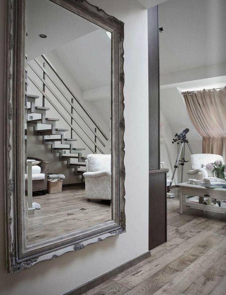 Best 20+ Large Floor Mirrors Ideas On Pinterest | Floor Mirrors With Regard To Huge Wall Mirrors (#6 of 30)