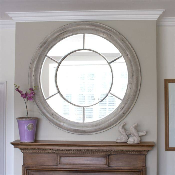 Best 20+ Large Round Mirror Ideas On Pinterest | Large Hallway For Large Round Mirrors (#3 of 20)