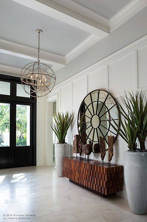 Best 20+ Large Round Mirror Ideas On Pinterest   Large Hallway With Large Round Gold Mirrors (View 15 of 30)