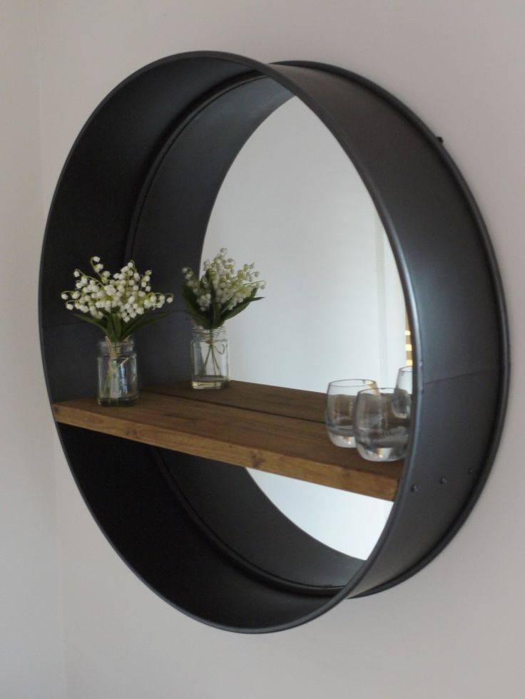 Best 20+ Large Round Wall Mirror Ideas On Pinterest | Photo Wall Throughout Large Black Round Mirrors (View 9 of 30)