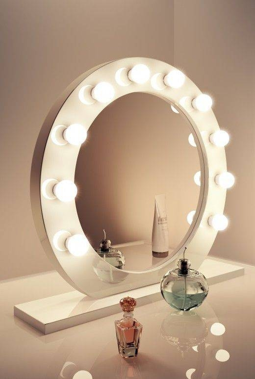 Best 20+ Make Up Mirror Ideas On Pinterest | Makeup Desk, Makeup With Vintage Stand Up Mirrors (#14 of 30)