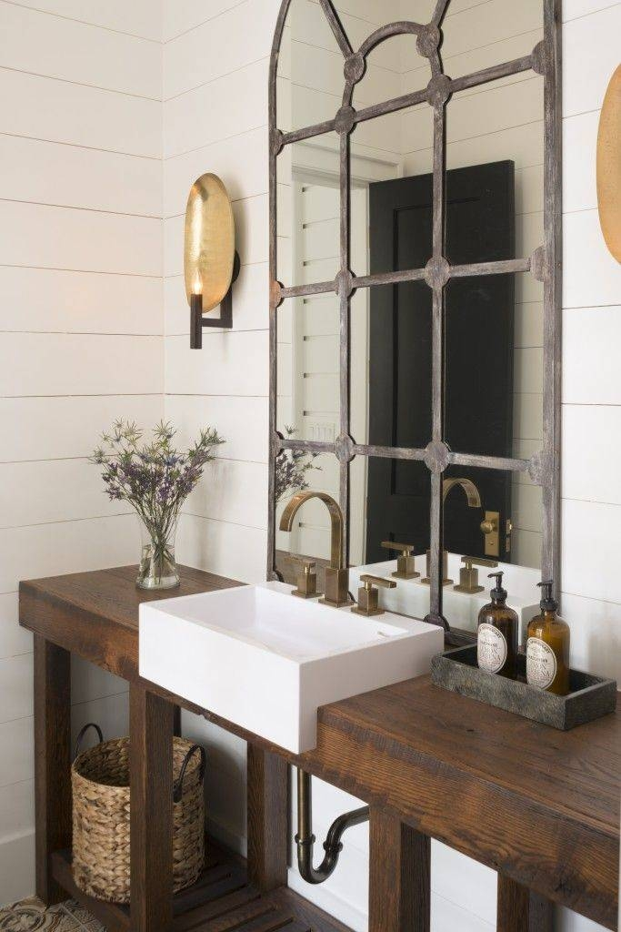 Best 20+ Mirrors For Bathrooms Ideas On Pinterest | Small Full Intended For Vintage Style Bathroom Mirrors (View 20 of 20)