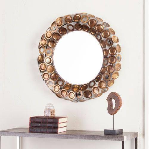 Best 20+ Round Decorative Mirror Ideas On Pinterest | Spoon Art In Decorative Mirrors (View 11 of 30)
