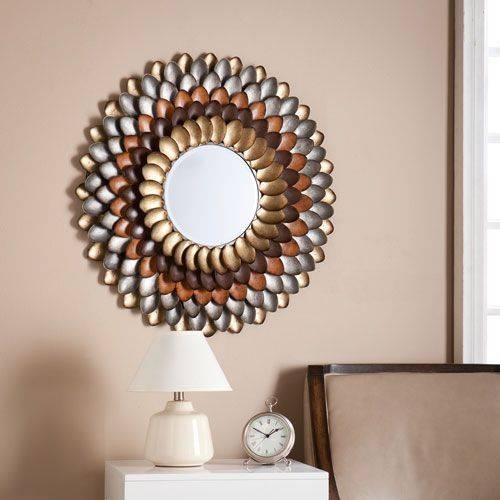Best 20+ Round Decorative Mirror Ideas On Pinterest | Spoon Art Inside Decorative Round Mirrors (View 10 of 30)