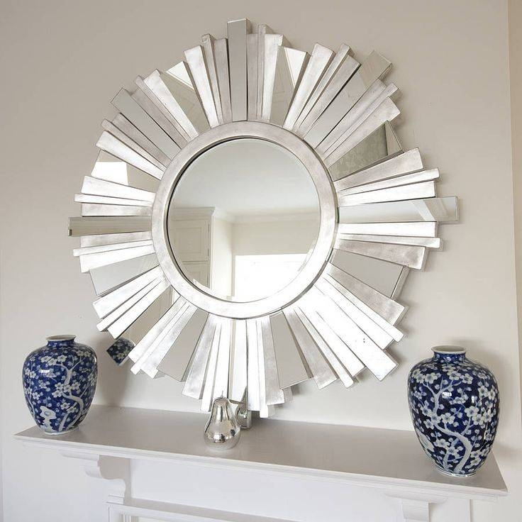 Best 20+ Round Decorative Mirror Ideas On Pinterest | Spoon Art Intended For Funky Round Mirrors (View 17 of 30)