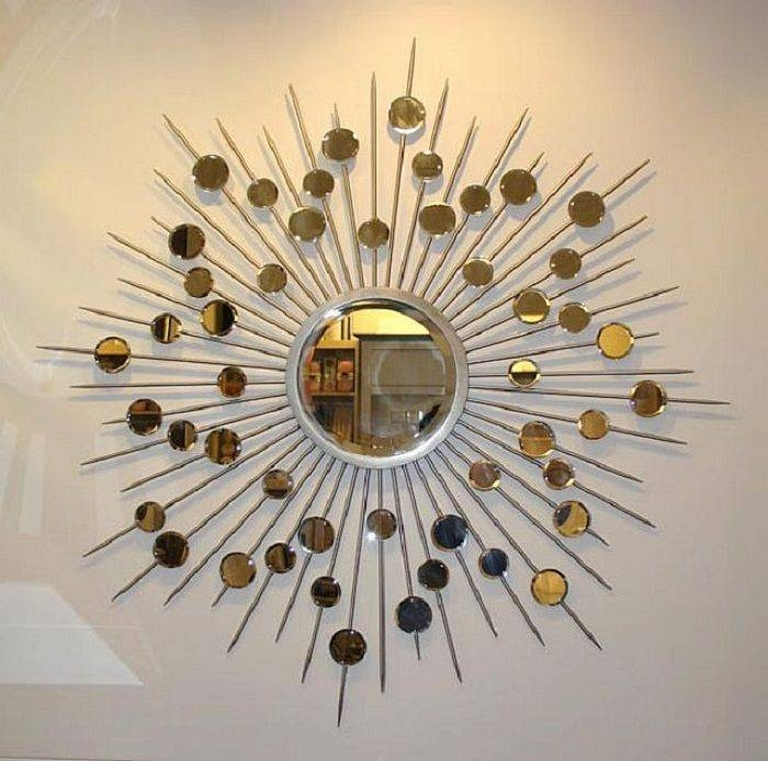 Best 20+ Round Decorative Mirror Ideas On Pinterest | Spoon Art Regarding Decorative Round Mirrors (View 2 of 30)