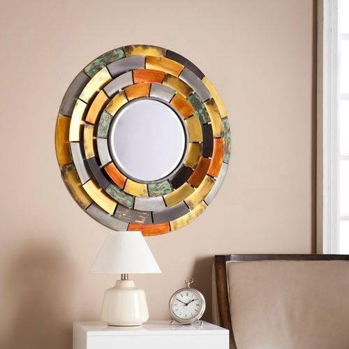 Best 20+ Round Decorative Mirror Ideas On Pinterest   Spoon Art Regarding Decorative Small Mirrors (#1 of 20)