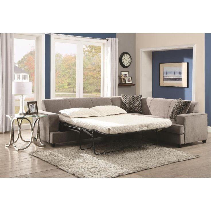 Best 20 Sectional Sofa With Sleeper Ideas On Pinterest Cheap Regarding Sleeper Sectional Sofas (View 10 of 15)