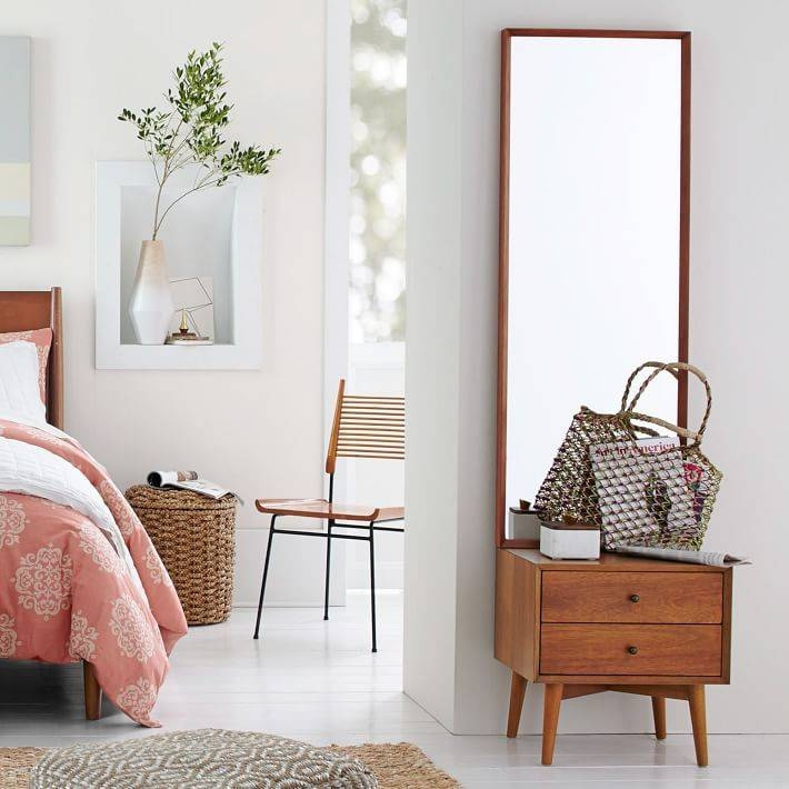 Best 20+ Small Full Length Mirrors Ideas On Pinterest | Full Throughout Full Length Free Standing Mirrors With Drawer (#5 of 20)