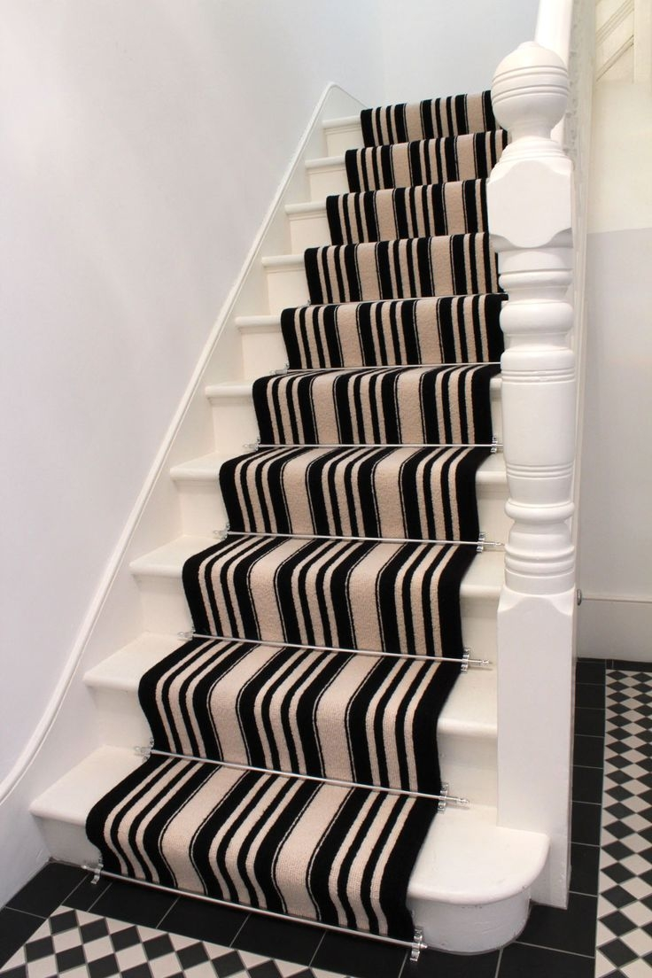 Best 25 Carpet Stair Runners Ideas On Pinterest: 20 Photo Of Stair Tread Rug Holders
