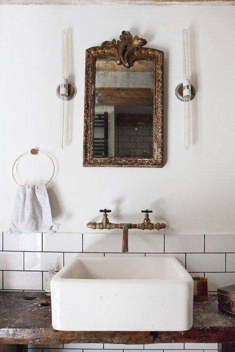 Best 20+ Vintage Bathrooms Ideas On Pinterest | Cottage Bathroom For Antique Mirrors For Bathrooms (View 14 of 20)